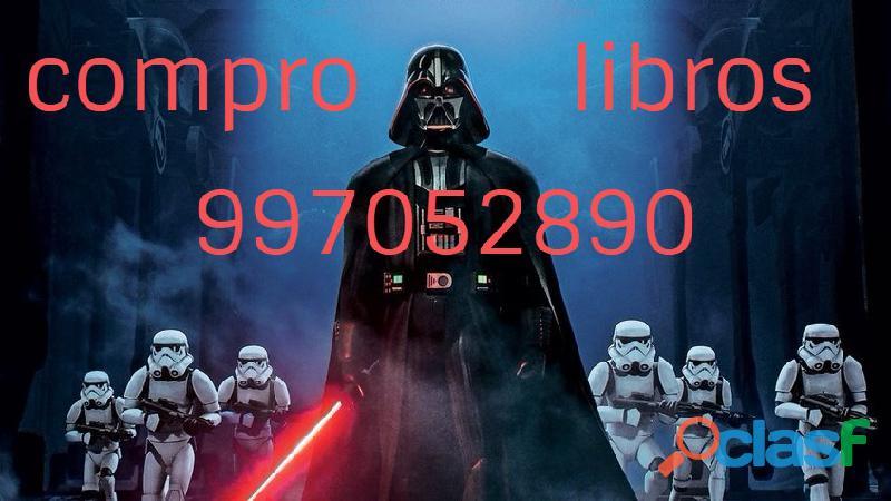 Compro libros 997052890 nuevos y usados.seriedad y puntualidad. pagamos buen precio.