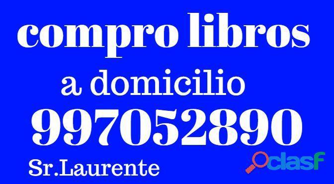 Compro libros>todo lima>a domicilio>pago precio>
