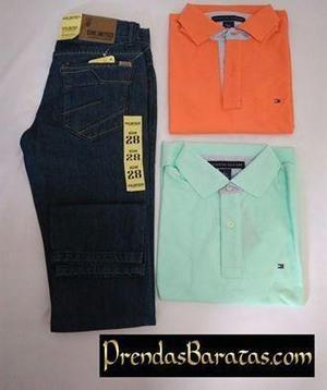 Jeans sinlimited semi pitillo + polo tommy hilfiger