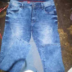 Pantalon jeans strech,pitillo,azul,,focalizado,,caballero