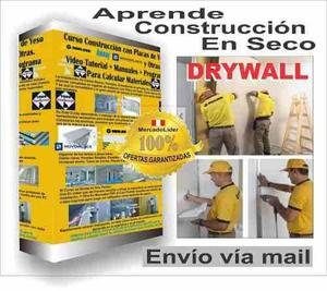 Aprende construccion en seco en drywall mas videos facil