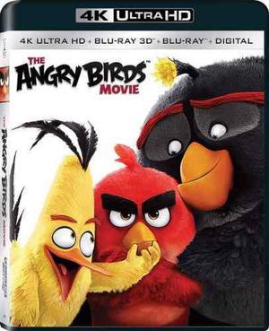 Blu ray angry birds: la película 3d - 2d - 4k- stock -