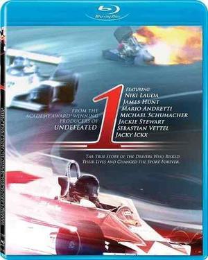 Formula 1 documental 1 senna lauda stewart blu-ray nuevo!!