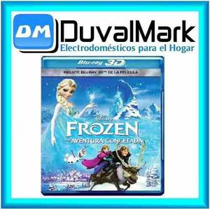 Pelicula frozen 3d una aventura congelada bluray 3d original