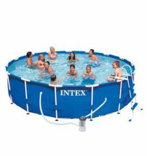 Escalera piscina anuncios octubre clasf for Piscina estructural intex