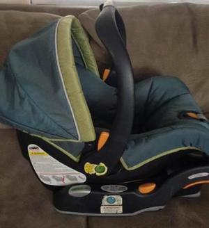 Silla carro auto car seat portabebe y mecedora c/base chicco