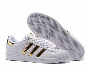Adidas superstar doradas caja - stock - 100% originales