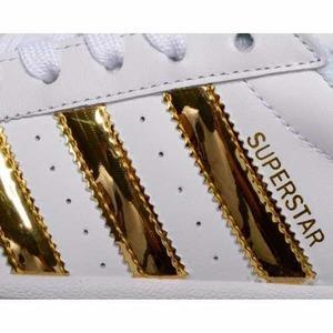 Adidas superstar doradas en caja stock- 100% originales