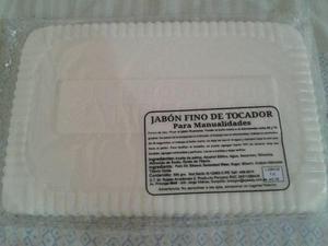 Barra de glicerina cosmética para elaborar jabones 2kg