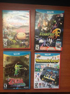 Juegos Nintendo Wii U Starfox Zelda En Arequipa Ofertas Enero