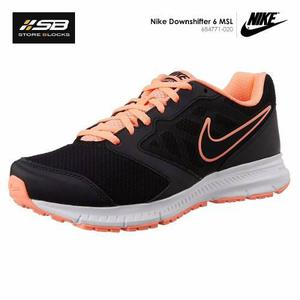 1224c30c89 zapatillas nike downshifter hombre. ,. Nike downshifter 6 msl - mujer -  correr - negro y melon
