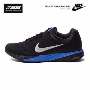 Nike tri fusion run msl - hombre - negro - correr entrenar