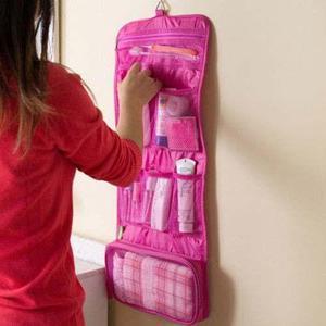 Organizador cosmeticos plegables portatiles bolsos carteras