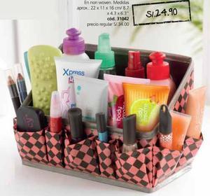 41fde6ab7cd0 Organizador de cosméticos accesorios bath box cyzone