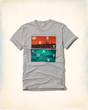 31c0d1af01 Polo camiseta hollister hombre plomo - 100% original usa en Trujillo ...