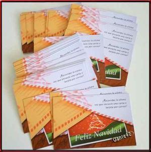 Dante42 pack 56 tarjeta postal feliz navidad de peru