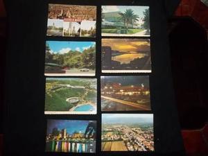 Lote de antiguas postales de diferentes paises de coleccion