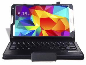 Case cuero con teclado bluetooth samsung tab s 8.4 t700 t705