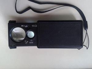 Lupa led 60x detector billetes - joyeria - electrónica