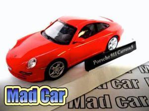 Mc mad car porsche 911 carrera s auto clasico coleccion 1/43