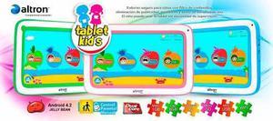 Tablet altron kids 7 dual core 8gb so-706 rosada sellada