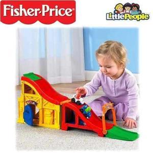 Fisher price pista sonidos de carrera little people selladas