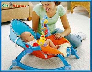 4db61eaa4 Mecedora silla musical con vibracion hasta 18 kg rocker