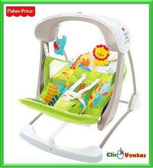Silla columpio con 10 melodias y vibraciones y juguetes bebe