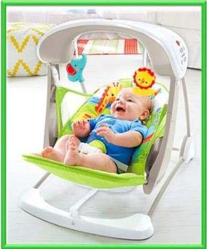 dcc355176 Silla columpio para bebe con musical, vibracion fisher price