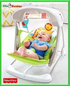 Silla columpio para bebe + melodias + vibracion fisher price