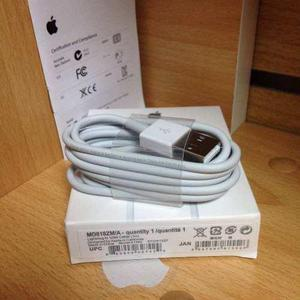 Cable lightning apple original caja sellada iphone 5 5s 6 7