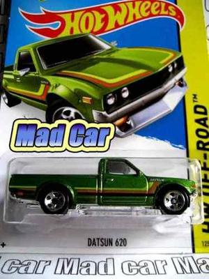 Mc mad car hot wheels datsun 620 auto 1/64 coleccion hw