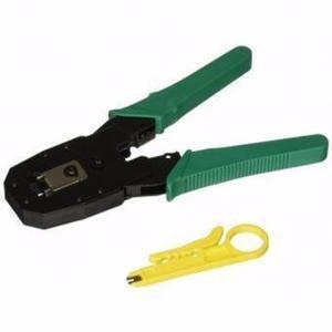Alicate ponchador para internet y telefono rj45 y rj11 cable