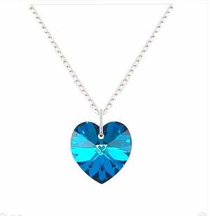 30ff1cc0940ee Collar corazon azul titanic   REBAJAS febrero     Clasf