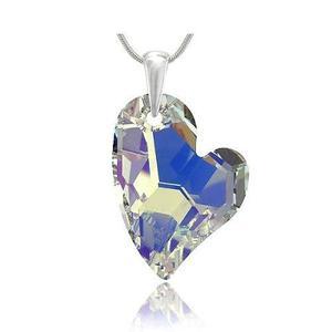 b7bec5892268 Collar corazón devoted 2 u aurora boreal cristal swarovski en Lima ...