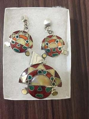 0779634ee316 Joyas plata 950 de colección original cuero navidad perlas