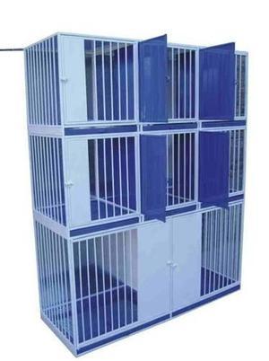 Miebles veterinarios canil jaula para 8 animales