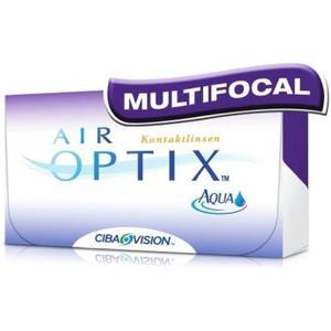 Lentes de contacto air optix-aqua multifocal- presbicia