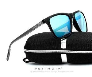 Lentes de sol polarizado uv400 aluminio gafas veithdia hd bcf654ecd9