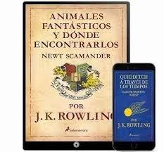 Animales fantásticos dónde encontrarlos 20 libros -