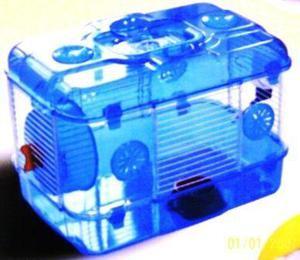 Casa jaula para hamster o ratones un piso lujo acrilico