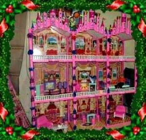 Castillo para barbie y mu ecas casa juguetes tiendacasti en lima anuncios enero clasf - La casa de barbie de juguete ...