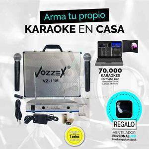 Karaoke casa microfonos inalambricos clasf - Karaoke en casa ...