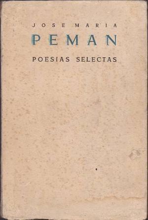 Poesía selectas josé maría pemán dedica a racso miro