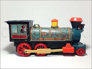 A64 locomotora western hojalata juguete antiguo decoracion