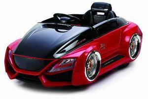 Auto a bateria del futuro modelo audi luces led y control