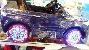 Carro A Bateria Para Ninos Juguete Land Rover Control En Lima