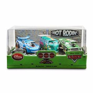 Cars disney playset, mcqueen con control, set x16 cars, mack