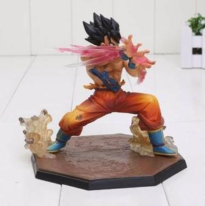 Dragon ball z goku triple kaioken figura nueva en caja