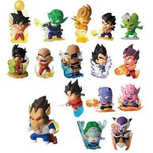 Dragon ball z set x16 chibis saga de los saiyajin y freezer